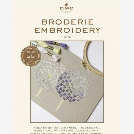 DMC Broderie Embroidery Book No 02