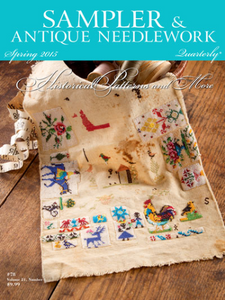Sampler And Antique Needlework Quarterly Spring 2015