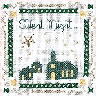 Silent Night Beyond Cross Stitch Kit by Victoria Sampler
