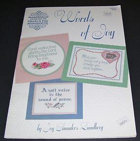 Words of Joy by Gloria and Pat Designs
