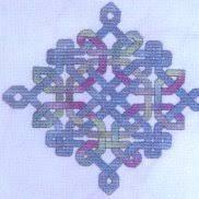Celtic Diamond Knot By Dinky Dyes Designs