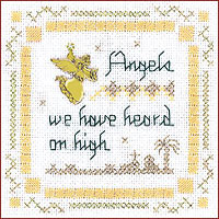 Angels we Have Heard Beyond Cross Stitch Kit by Victoria Sampler