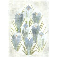 Crocus by Edith Hansen - Kit from Danish Handcraft Guild 30-5897