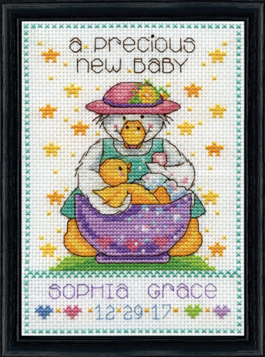 Precious Baby Cross Stitch From Design Works Crafts By Joan Elliott
