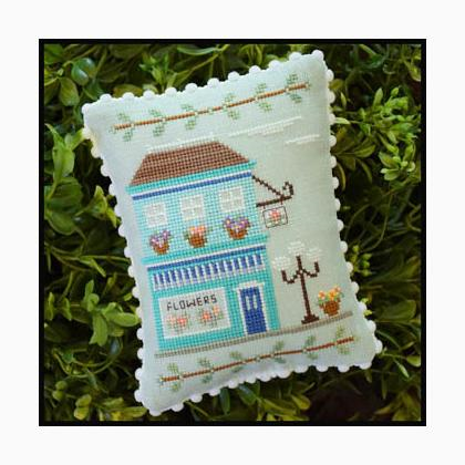 Main Street Flower Shop By Country Cottage Needleworks