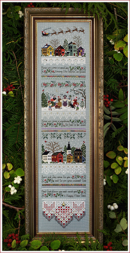 Carol Singers Chart By Victoria Sampler