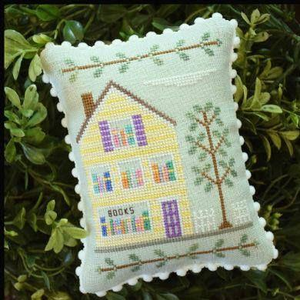 Main Street Bookstore By Country Cottage Needleworks