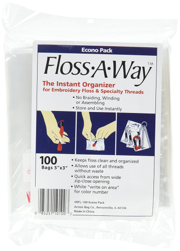 Floss A Way Organiser Pack Of 100