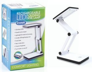 Triumph Led Rechargeable Folding Desk Lamp