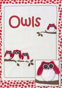 Owls Pattern Pack by Windflower Embroidery