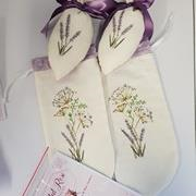 Queen Anne's Lace Shoe bags and Shoe Stuffers by Faded Rose Designs