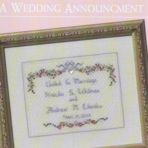 A Wedding Announcement by JBW Designs