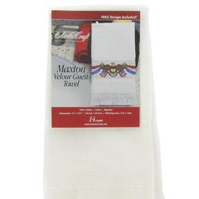 Velour Guest Towel - Maxton