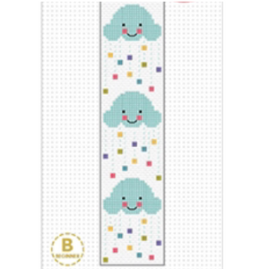 Clouds Bookmark Cross Stitch Kit by Create Handmade