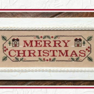 Merry Christmas by Country Cottage Needleworks