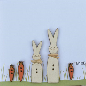 Bunnies and Carrots by The Bee Company