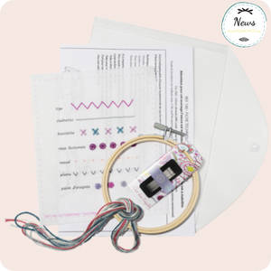 Beginner Embroidery Kit by Un Chat dans l'aiguille