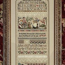 Heirloom Stitching Sampler by Victoria Sampler