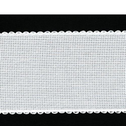 8cm Aida Band Zwiegart Per Metre Antiique White