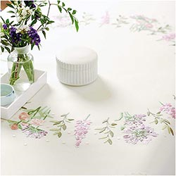 Floral Wreath Tablecloth by Rico Designs