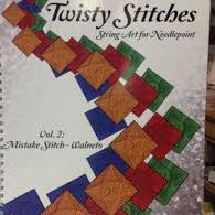 Twisty Stitches: String Art for Needlepoint Volume 2 by Rainbow Gallery