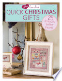 Quick Christmas Gifts By I Love Cross Stitch