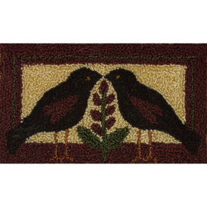 Blackbirds Punch Needle Embroidery Kit by Rachel's of Greenfield