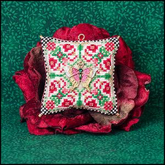 Christmas Butterfly 2019 Ornament by Just Nan