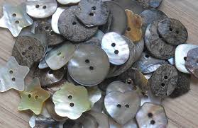 Mother Of Pearl Mini Star Buttons