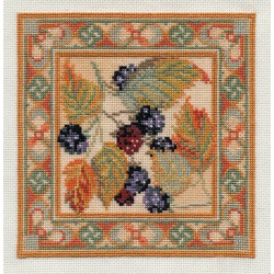 Blackberry - Counted Canvas Kit by Derwentwater Designs