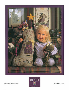 Jillian's Stocking By Shepherd's Bush - Chart and Charm Pack