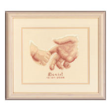 Vervaco 0011670 Birth Record Holding Hands