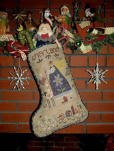 Charland's Stocking By Shepherd's Bush - Chart and Charm Pack