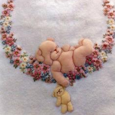 Lullaby Bear Pattern Pack By Windflower Embroidery