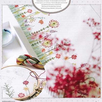 Autumn Meadow Table Runner by Rico Designs