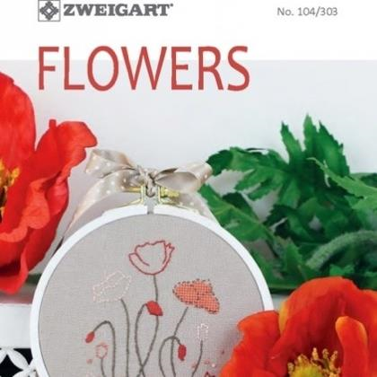 Zweigart Book 104/303 Flowers