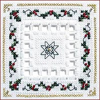 Holly Berries Beyond Cross Stitch Kit by Victoria Sampler