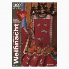 Nordic Christmas - Rico Cross Stitch Book 89