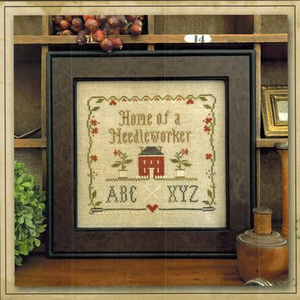 Home of a Needleworker Squared by Little House Needleworks