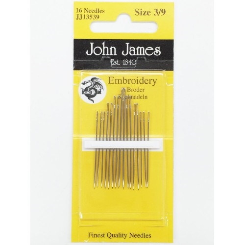 John James Embroidery Needles