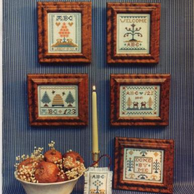 Miniature Samplers II for Christmas and All Year by Homespun Elegance