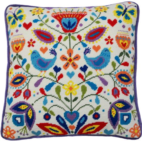 Summer Melody Tapestry Cushion by Bothy Threads