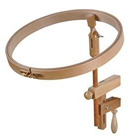 Beechwood Exchangeable Table Clamp (Hoop not included)