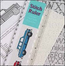 Stitch Ruler With Vinyl Aida And Free Chart