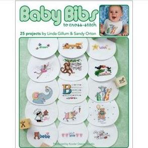 Baby Bibs to Cross Stitch by Leisure Arts