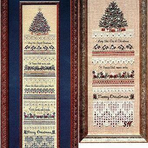 Heirloom Christmas Sampler by Victoria Sampler