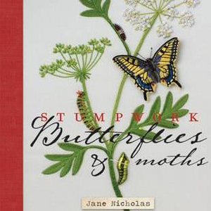 Stumpwork Butterflies And Moths By Jane Nicholas