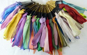 Colour Streams Silk Ribbon 13mm