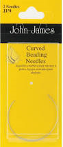 John James Curved Beading Needles