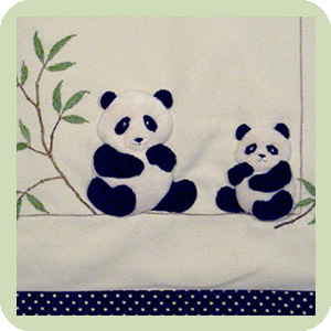 Pandas By Windflower Embroidery